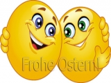 Frohe Ostern Smilies
