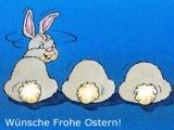 Wünsche frohe Ostern